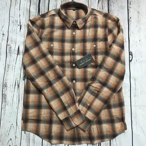 Threads 4 Thought - Slim Fit Flannel Sunset Shirt